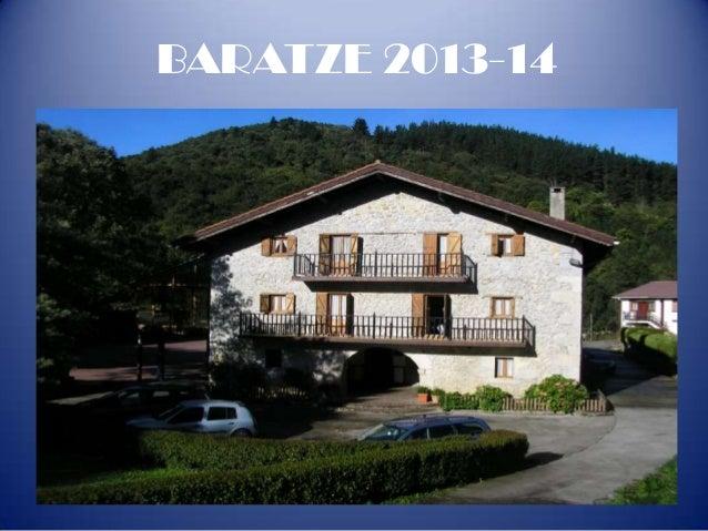 BARATZE 2013-14