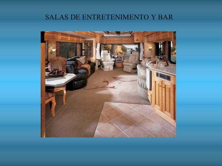 SALAS DE ENTRETENIMENTO Y BAR