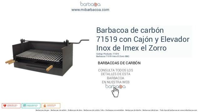 Barbacoas de carb n en - Barbacoas de carbon ...