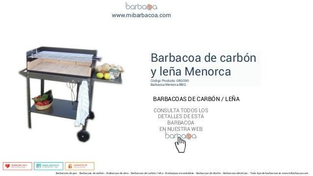Barbacoas de carb n le a en - Barbacoas de carbon y lena ...