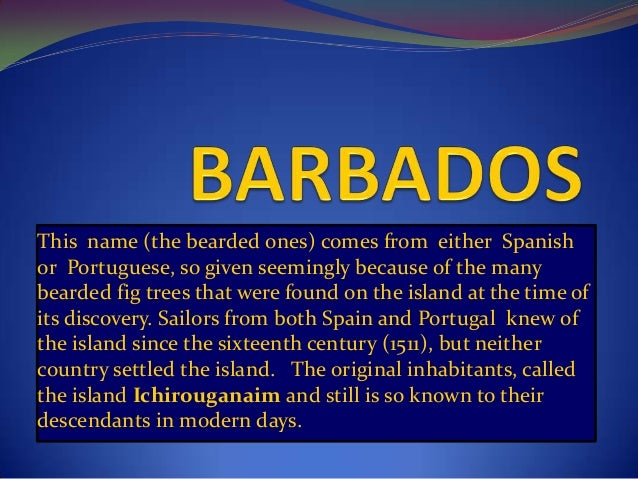 Barbados Flag What Does It Mean