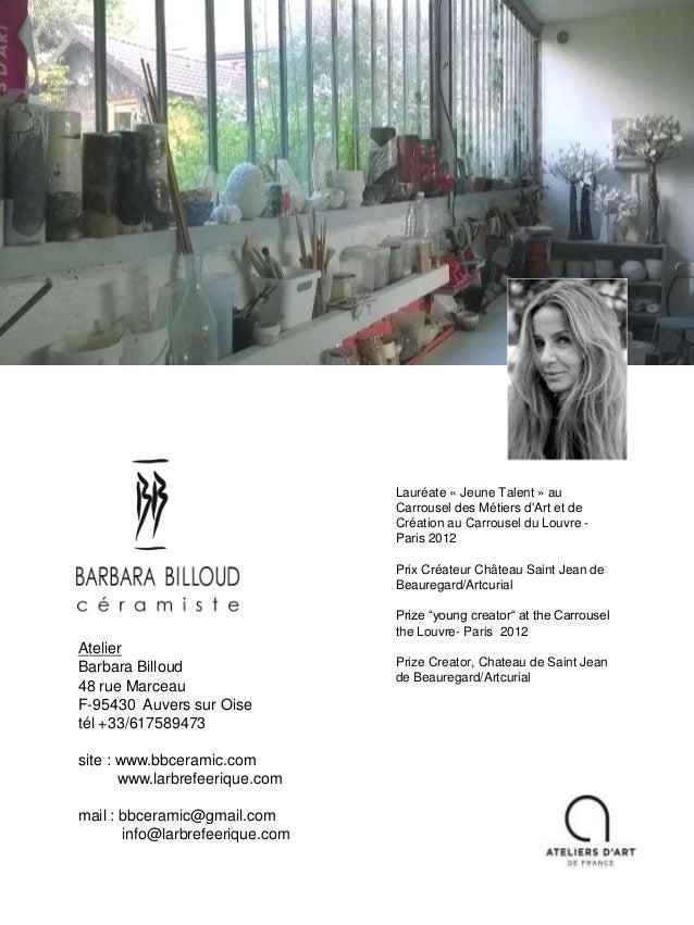 Barbara Billoud - Présentation Raku 2016-11