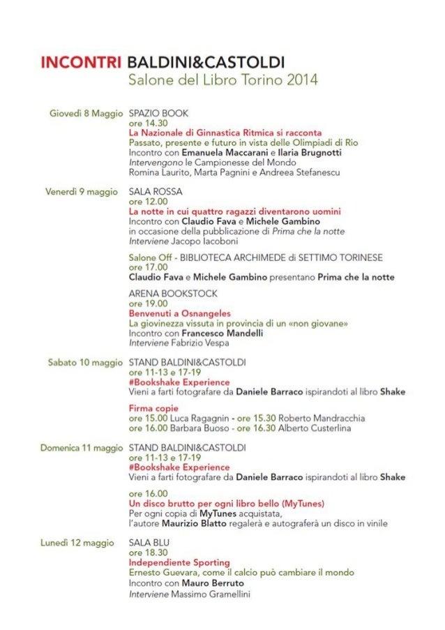 Barbara Buoso will meet the readers, on Sat 9, at Salone del Libro Torino, in the premises of Baldini&Castoldi Stand