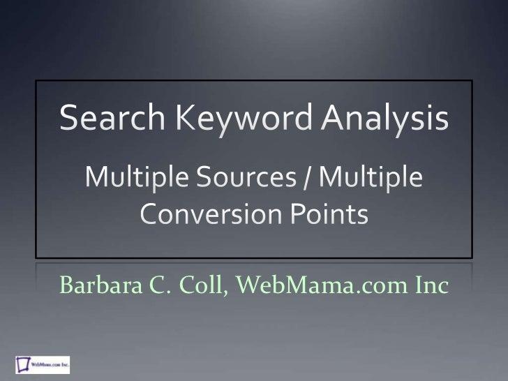 Barbara C. Coll, WebMama.com Inc