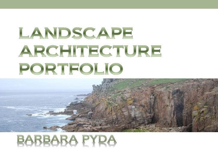 barbara pyda landscape architecture portfolio