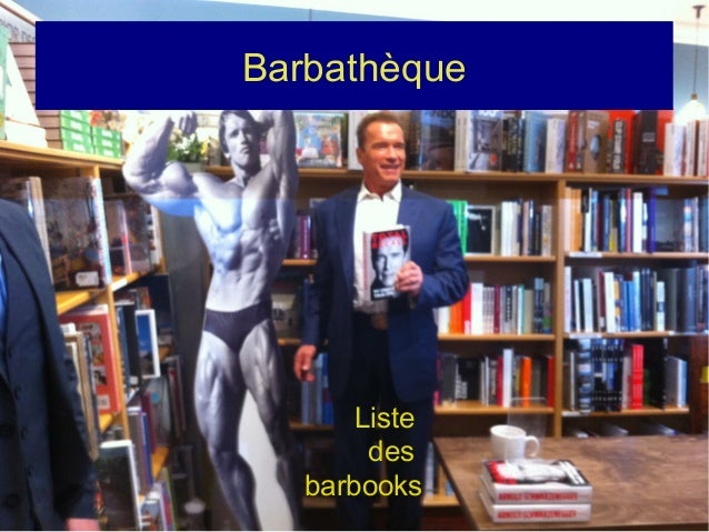 Barbathèque Liste des barbooks