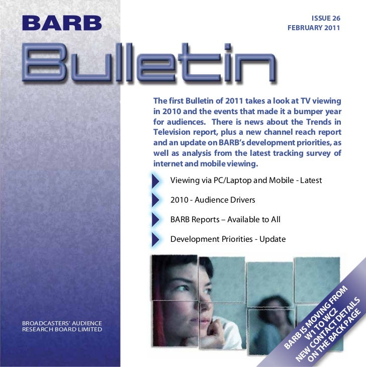 ISSUE 26                                                               FEBRUARY 2011                         The first Bul...