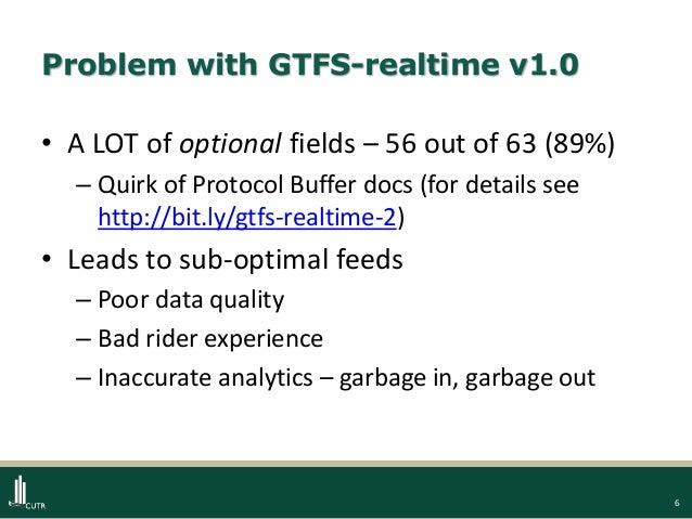 GTFS-realtime v2 0