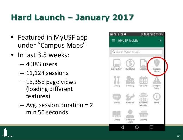 USF Maps App