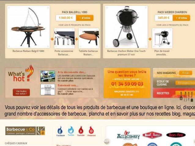 Barbecue Co Boutique En Ligne Shopping De Barbecue