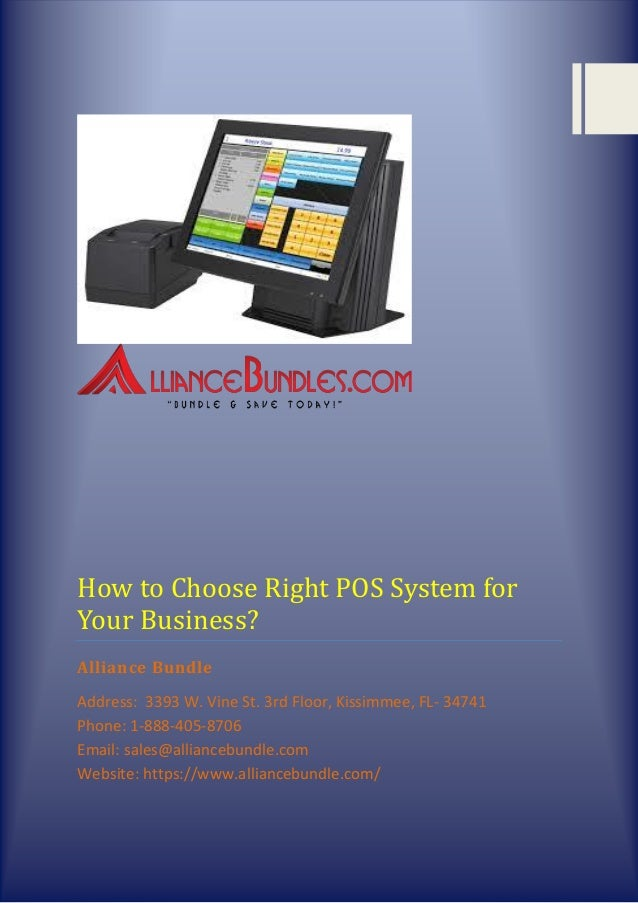 alliance pos systems
