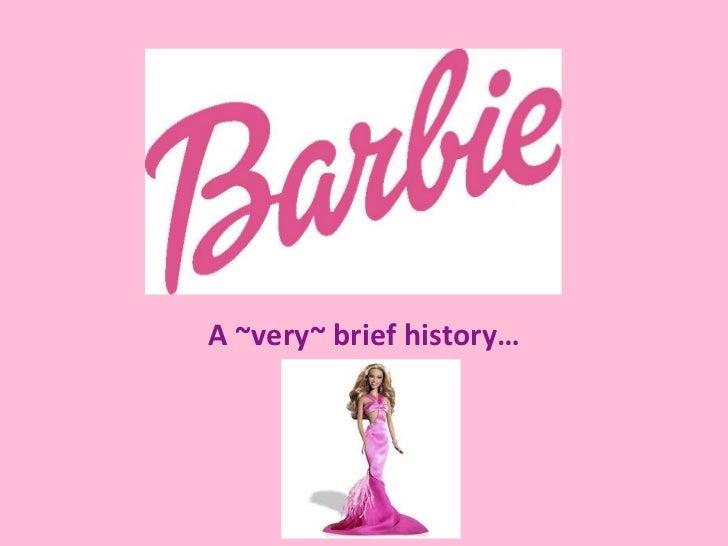 A ~very~ brief history…