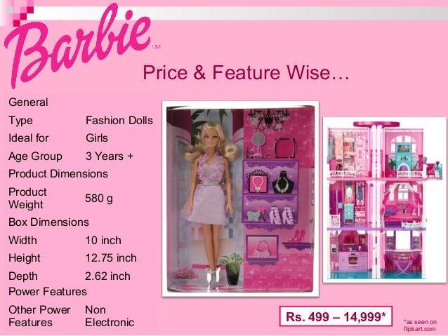 Marketing Case Study for Barbie Essay - 1344 Words