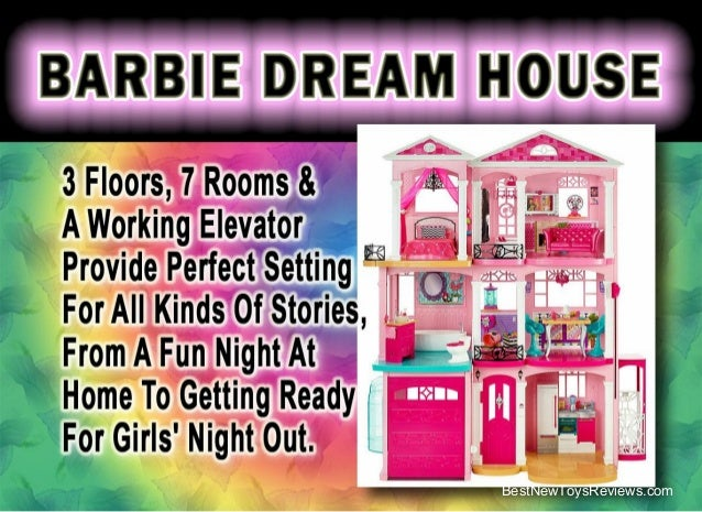 House Toys For Girls : Barbie dream house  review best xmas toys for girls