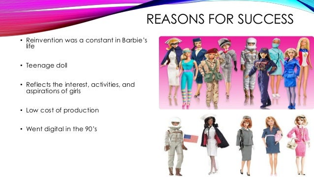 the case study of barbies success For personal use: please use the following citations to quote for personal use: mla trouble in toyland: new challenges for mattel — and 'made in china'.