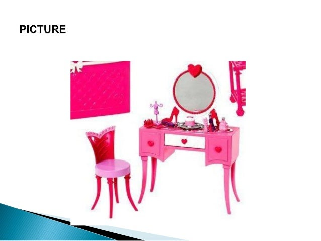 barbie glam vanity furniture set review