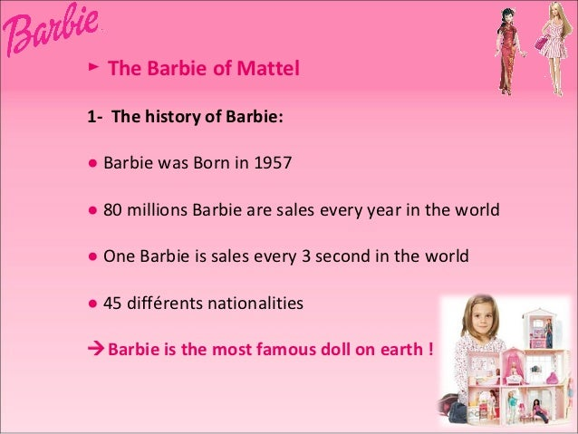 barbie and the toy industry Star wars fuels 5% sales increase for toy industry in with outside partners to add tech to toys like barbie fortune may receive compensation for some.