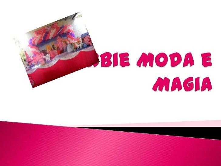 Barbie Moda e Magia<br />