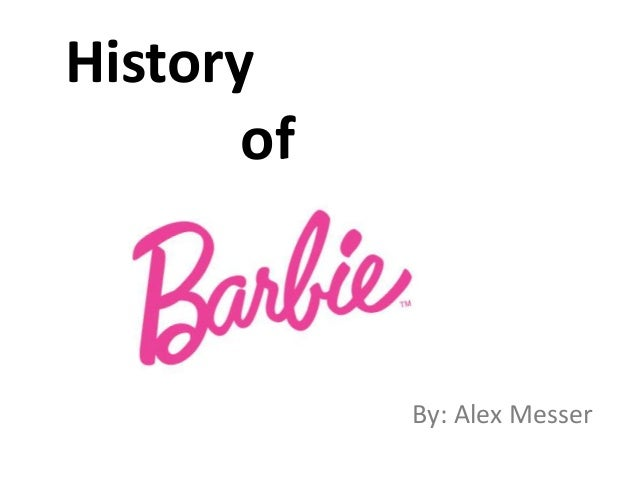 History of By: Alex Messer