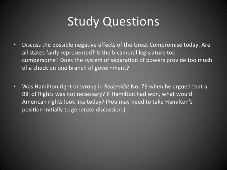 A discussion about the aspects of bill of rights that is threatened