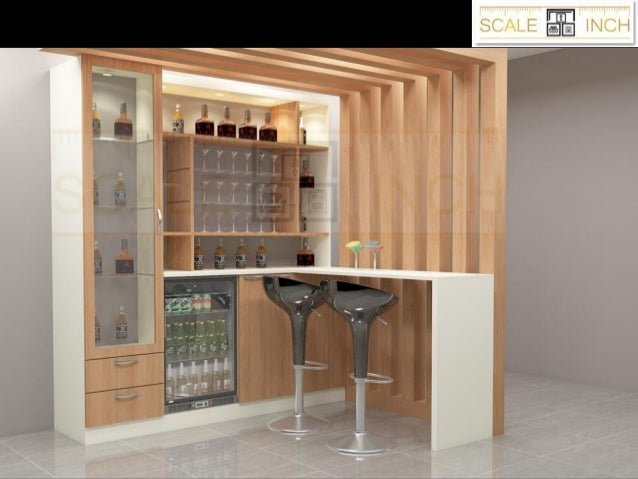 Bar Unit Designs For Home From Scale Inch India