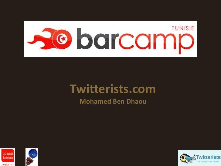 Twitterists.com  Mohamed Ben Dhaou