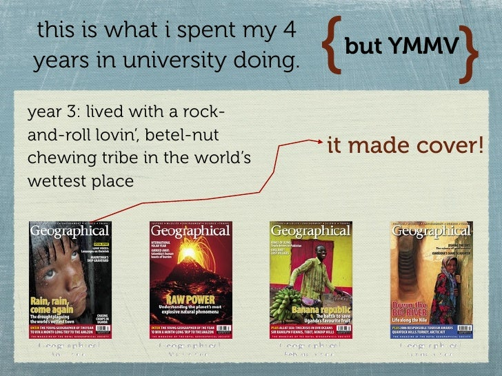 this is what i spent my 4 years in university doing.     {          }                                    but YMMV  year 3:...