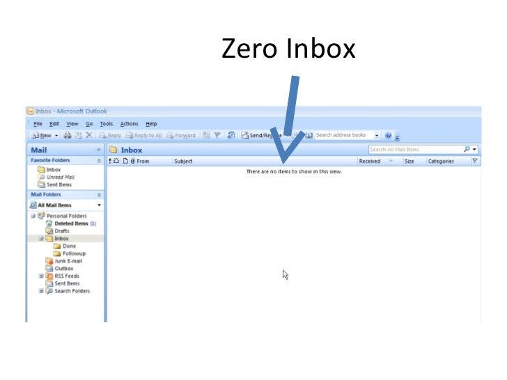 Zero Inbox