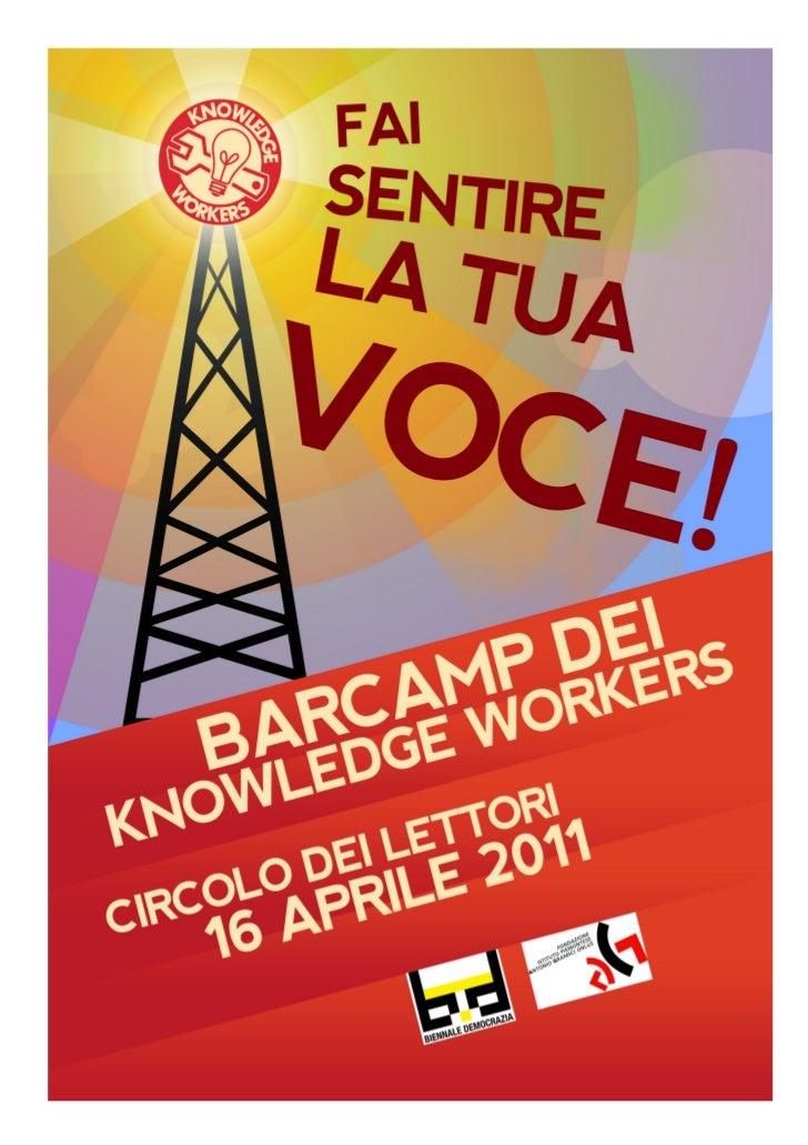 Barcamp knowledge workers