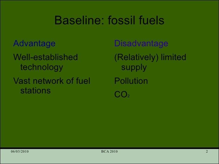 Alternative fuels Slide 2