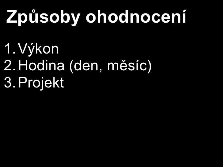 Cenotvorba for Dummies Slide 3