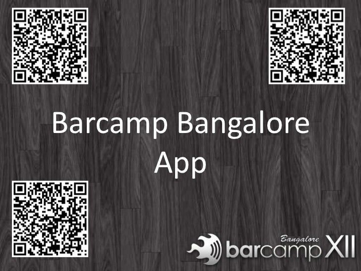 Barcamp Bangalore      App