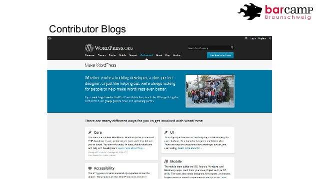 Contributor Blogs