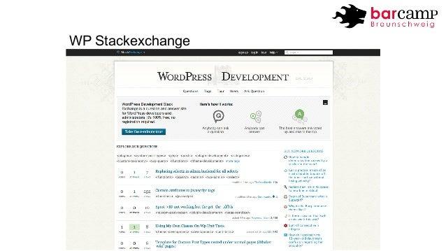 WP Stackexchange