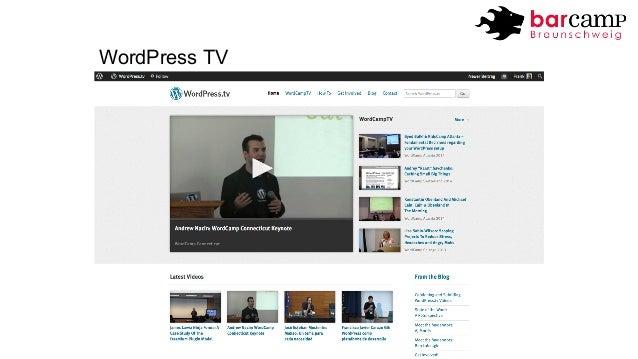 WordPress TV