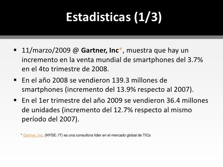 Los servicios basados en TIC están ganando campo en plataformas móviles de forma exponencial.