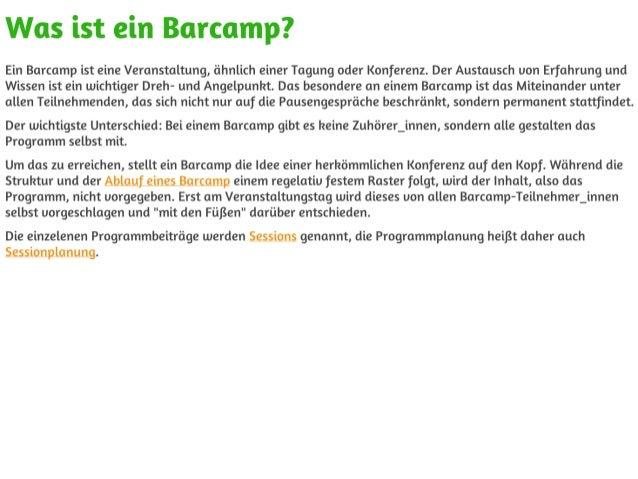 Barcamp definition Slide 2