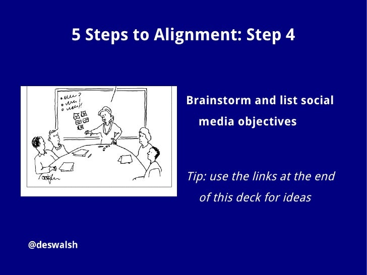 5 Steps to Alignment: Step 5               Match each of your top five                 business/career                 obj...