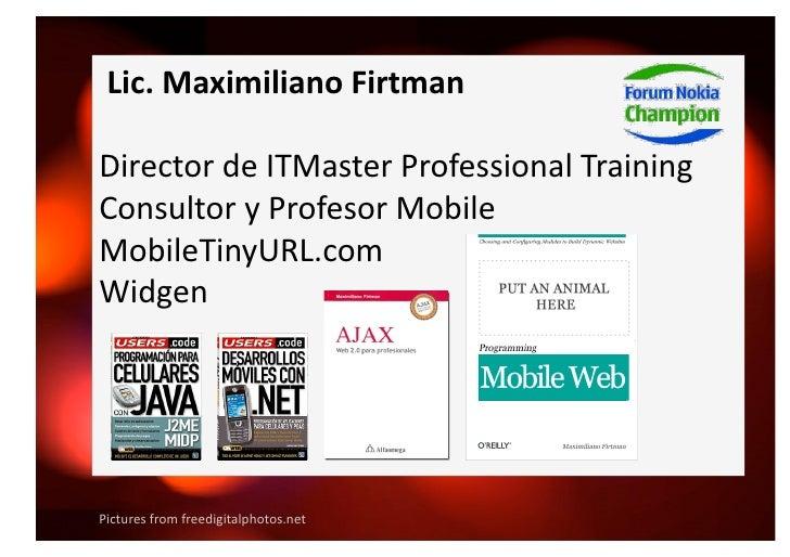Barcamp Mobile Web Slide 2