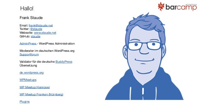 Teamkommunikation mit slack - BarCamp Nürnberg 2015 Slide 2