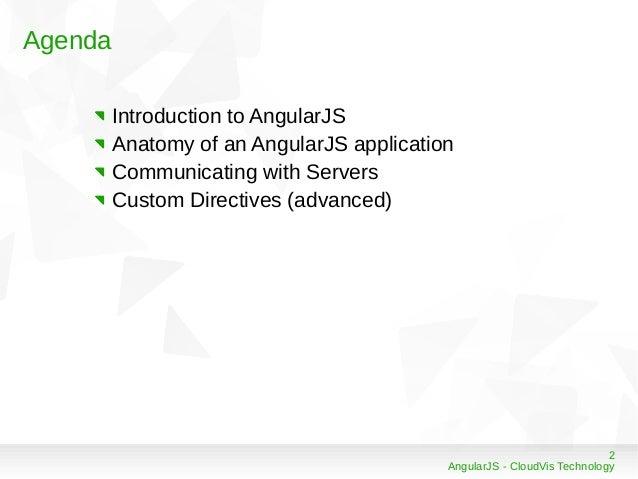 AngularJS Framework Slide 2
