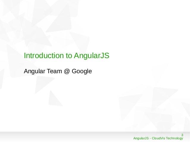 AngularJS Framework Slide 3