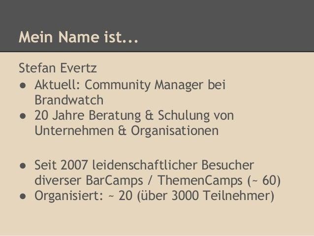 BarCamp & Unternehmen - Warum Unkonferenzen lohnen Slide 2
