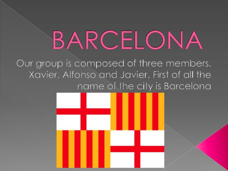    We would like to begin with Barcelona    situation in Catalonia. Barcelona, ​located on    the Mediterranean coast of ...