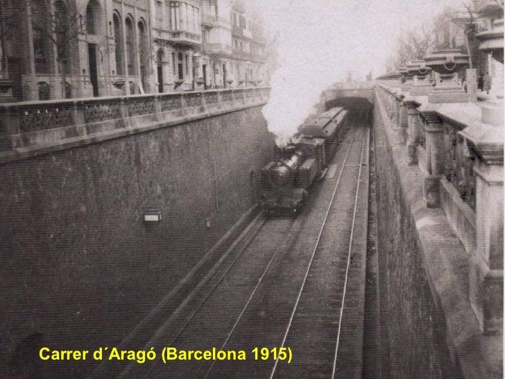 Carrer d´Aragó (Barcelona 1915)