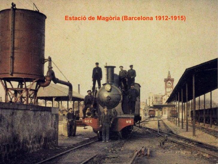 Estació de Magòria (Barcelona 1912-1915)