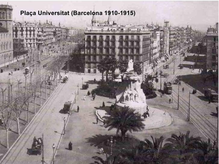 Plaça Universitat (Barcelona 1910-1915)