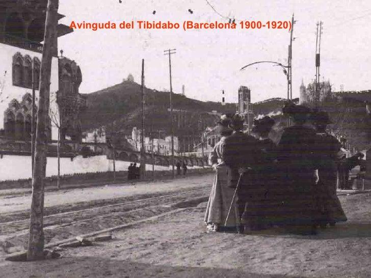 Avinguda del Tibidabo (Barcelona 1900-1920)