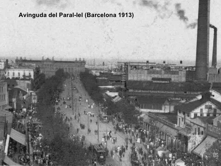 Avinguda del Paral-lel (Barcelona 1913)