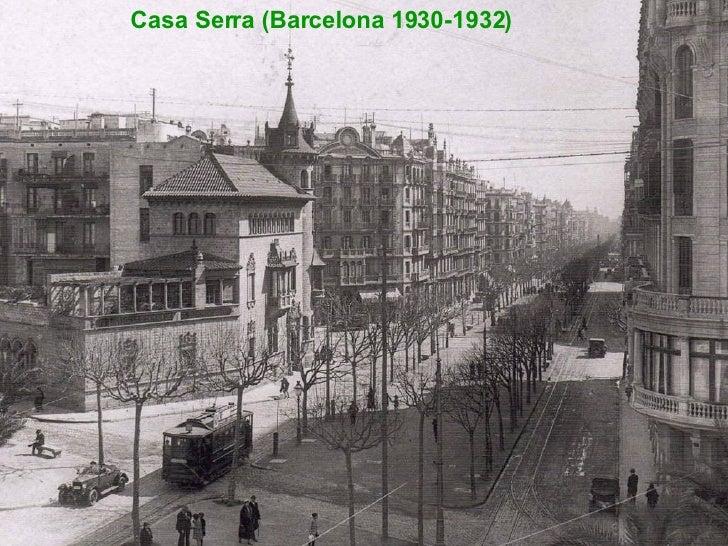 Casa Serra (Barcelona 1930-1932)